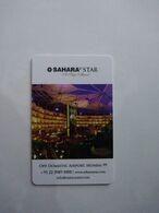 India Hotel Key, Sahara Star Hotel Mumbai (1pcs) - Hotelsleutels (kaarten)