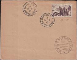 Foire De Paris - Stand Des P.T.T. - 14 Novembre 1945 - Commemorative Postmarks