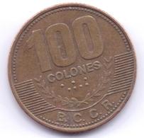 COSTA RICA 2007: 100 Colones, KM 240a - Costa Rica