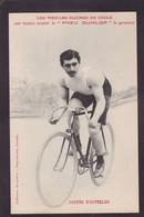 CPA Cyclisme Sport Vélo Cycle Coureur Cycliste Non Circulé Publicité DUNLOP COURBE D'OUTRELON - Wielrennen