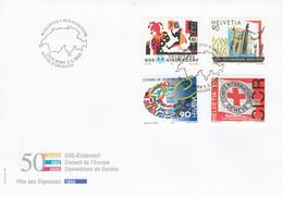 SUISSE FDC 1999 ANNIVERSAIRES DIVERS - FDC