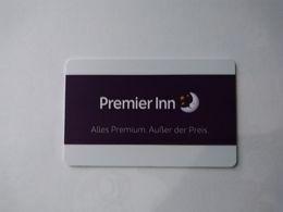 Germany Hotel Key, Premier Inn  (1pcs) - Hotelsleutels (kaarten)