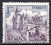 Spagna, 1964 - 1p Alcazar - Nr.1205 Usato° - 1931-Aujourd'hui: II. République - ....Juan Carlos I