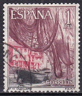 Spagna, 1965 - 1p  Cudillero - Nr.1285 Usato° - 1931-Aujourd'hui: II. République - ....Juan Carlos I