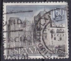 Spagna, 1966 - 1,50p Monastery Of Guadalupe - Nr.1359 Usato° - 1931-Aujourd'hui: II. République - ....Juan Carlos I