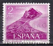 Spagna, 1969 - 2p  View Of Giblatar - Nr.1580 Usato° - 1931-Aujourd'hui: II. République - ....Juan Carlos I