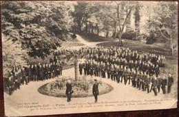 Cpa De 1921, 17 PONS - école Primaire Superieur Professionnelle De Jeunes Garcons - Présentation Des élèves - Pons