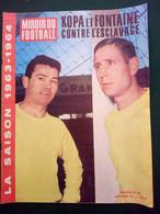 1963 MIROIR DU FOOTBALL N° 46 - KOOA - FONTAINE - Sport