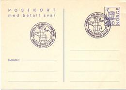 NORGE  NORVEGIA STATIONERY POST CARD 1979  POLICE ASSOCIATION    (SETT200459) - Politie En Rijkswacht