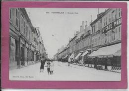 25.- PONTARLIER - Grande Rue - Pontarlier