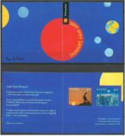 Norway Norge 1999 Millenium, Bird, Midnight Sun, Forest In Winter, Mi 1335-1336 In Booklet MNH(**) - Ungebraucht