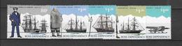 Dépendance De Ross (Nouvelle Zélande) N° 37 à  43** Portraits Et Navires-avion (5valeurs) - Neufs