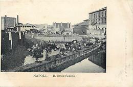 Pays Div- Ref Y119- Italie - Italia - Italy - Naples - Napoli - Il Fiume Sebeto   - - Italia