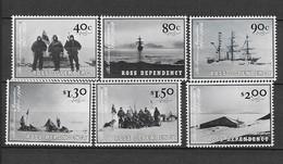"""Dépendance De Ross (Nouvelle Zélande) N° 84 à 89**Expédition """"Discovery"""" - Neufs"""