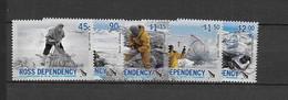 Dépendance De Ross (Nouvelle Zélande) N°105 à 109**Activités De Scientifiques - Neufs
