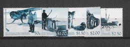 Dépendance De Ross (Nouvelle Zélande) N°110 à 114** Expédition Trans-atlantique - Neufs