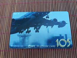 Phonecard Airplane Used Rare - Airplanes
