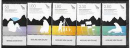 Dépendance De Ross (Nouvelle Zélande) N°120 à 124**traité De L'antarctique - Neufs