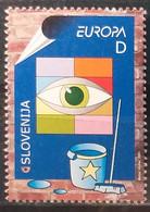 Slovenia 2003 - Europa - MNH As Scan - Yvert 391 - Slovenia