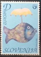 Slovenia 2004 - Europa - MNH As Scan - Yvert 436 - Slovenia