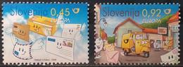 Slovenia 2008 - Europa - MNH As Scan - FACE VALUE!!! - Yvert 619/20 - Slovenia
