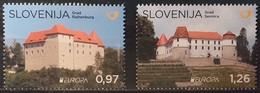 Slovenia 2017 - Europa - MNH As Scan - FACE VALUE!!! - Yvert 1048/49 - Slovenia