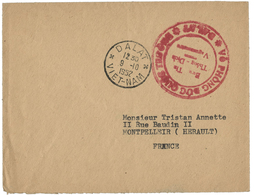 1952 GUERRE D'INDOCHINE. C.à.d 'DALAT * VIET - NAM * 9/10/52' + Cachet Rouge En Vietnamien - Postmark Collection (Covers)