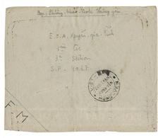 1953 GUERRE D'INDOCHINE Env. En FM Avec Le Cachet De POSTE RURALE Avec Légende - Postmark Collection (Covers)