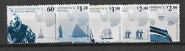 Dépendance De Ross (Nouvelle Zélande) N°130 à 134** Expédition Vers Le Pôle-sud - Neufs