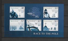 Dépendance De Ross (Nouvelle Zélande) Bloc Feuillet N° 3**Expédition Vers Le Pôle-sud - Neufs