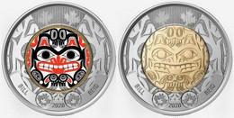 2020 Canada 2 Dollars Bill Reid BU From Roll -2 Coins- - Canada