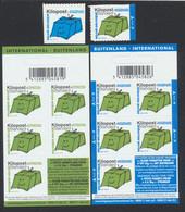 Kilopost - Ki20a (Bleu) + Ki22a (vert) + Les Deux Carnets Ki.B12/13 Neuf Sans Charnières, MNH. Bel Ensemble ! - Belgio