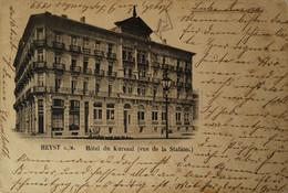Heist - Heyst Sur Mer // Hotel Du Kursaal (Vue De La Station) Used 1899 With Stamp! - Heist