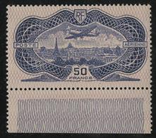 * N°15 BURELE + Un Bord De Feuille Inférieur. Très Belle Gomme Avec Une Infime Trace De Charnière. TB COTE 800 € - 1927-1959 Mint/hinged