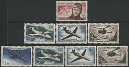 ** N°34 à 41 Dont Le 500 Fr Caravelle Et Le 1000 Fr Alouette. TB COTE 138 € - 1927-1959 Mint/hinged