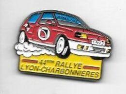 Pin' S  Ville, Sport  Automobile  Renault ? 1992, 44 ème  RALLYE  LYON - CHARBONNIÈRES  Avec  PRIMAGAZ ( 69 ) - Rallye