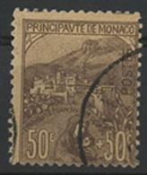 N°31 50 Ct + 50 Ct Lilas-brun Sur Orange De La Série Des Orphelins. TB COTE 220 € - Monaco