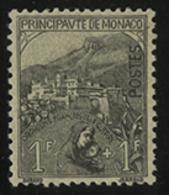 * N°32 1 Fr + 1 Fr Noir Sur Jaune De La Série Des Orphelins. TB COTE 405 € - Monaco