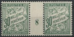 ** TIMBRES-TAXE N° 12 Neufs ** Sans Charnière PAIRE MILLESIMEE '8' Du 30 M. TB COTE 240 € - Alexandrie (1899-1931)