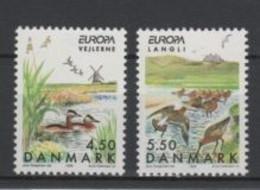 (S0227) DENMARK, 1999 (Europa Issue. National Parks). Complete Set. Mi ## 1211-1212. MNH** - Nuovi