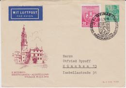 DDR Privatganzsache PU 10/9 ZF Lupo SSt Weimar 1956 - Privatumschläge - Gebraucht