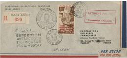 1949 BASE FRANCAISE EN TERRE ADELIE Timbre De La Poste Aérienne N° 1. TB COTE 500 € Voir Description - Terres Australes Et Antarctiques Françaises (TAAF)