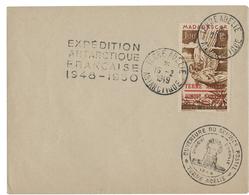 1949 BASE FRANCAISE EN TERRE ADELIE Timbre De La Poste Aérienne N° 1. TB COTE 550 € Voir Description - Terres Australes Et Antarctiques Françaises (TAAF)