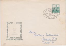 DDR Privatganzsache PU 13/3 SSt Leipzig Sachsen 1962 - Privatumschläge - Gebraucht