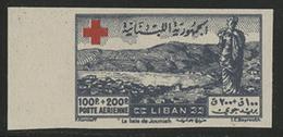 ** POSTE AERIENNE N° 35 à 39 Série Complète NON DENTELEE NEUVE ** TB - Lebanon