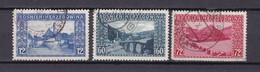 Bosnien Und Herzegowina - 1912 - Michel Nr. 61/63 - Gestempelt - 45 Euro - Used Stamps