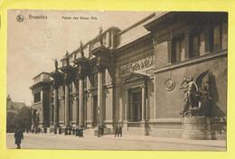 * Brussel - Bruxelles - Brussels * (Ed Nels) Palais Des Beaux Arts, Museum Der Schone Kunsten, Animée, Façade, Old - Bruxelles-ville