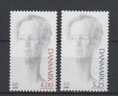 (S1727) DENMARK, 2000 (60th Birthday Of Queen Margrethe II). Complete Set. Mi ## 1238-1239. MNH** - Nuovi