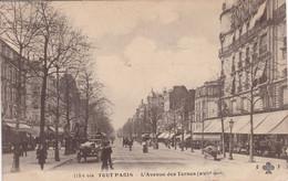 75 PARIS  L'Avenue Des Ternes N° 1184 - Distretto: 17