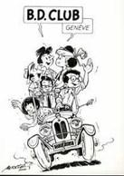 MITTEI : Cartelette Bd Pour Adherent BD CLUB GENEVE 2000 - Ansichtskarten